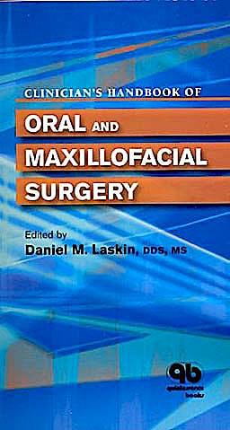 Portada del libro 9780867154931 Clinician's Handbook of Oral and Maxillofacial Surgery