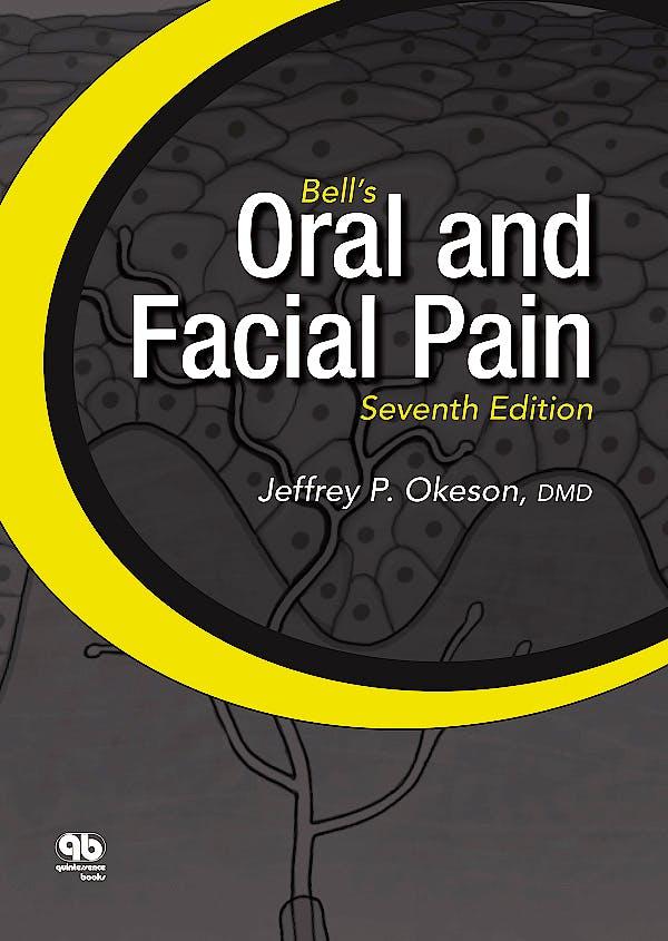 Portada del libro 9780867156546 Bell's Oral and Facial Pain