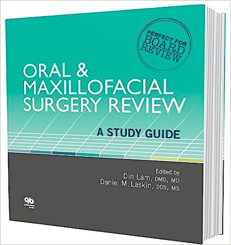 Portada del libro 9780867156744 Oral & Maxillofacial Surgery Review: A Study Guide