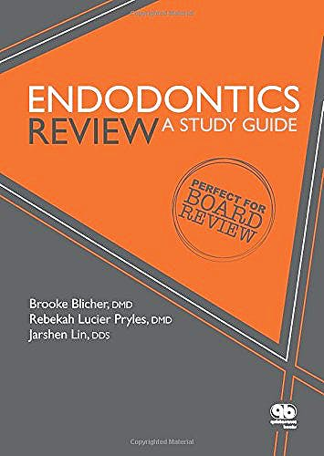 Portada del libro 9780867156966 Endodontics Review: A Study Guide