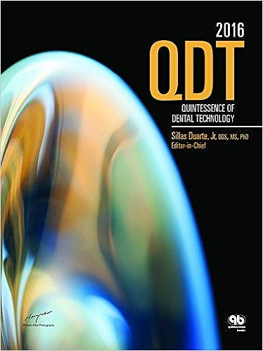Portada del libro 9780867157239 QDT 2016 (Quintessence of Dental Technology)