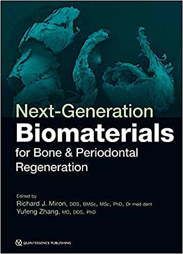 Portada del libro 9780867157963 Next-Generation Biomaterials for Bone and Periodontal Regeneration