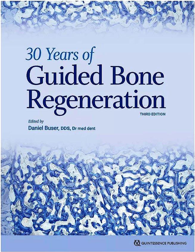 Portada del libro 9780867158038 30 Years of Guided Bone Regeneration