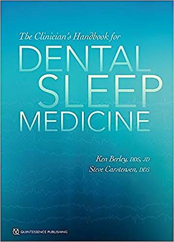Portada del libro 9780867158137 The Clinician's Handbook for Dental Sleep Medicine