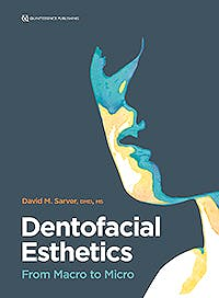 Portada del libro 9780867158885 Dentofacial Esthetics. From Macro to Micro