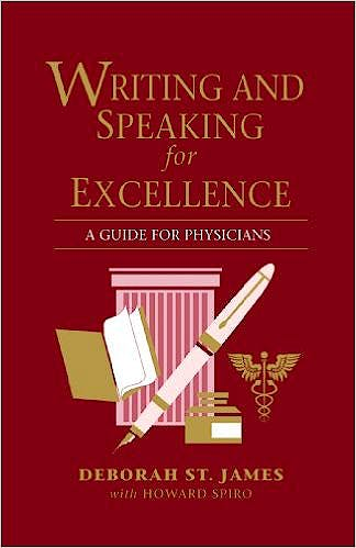 Portada del libro 9780867209358 Writing and Speaking for Excellence. Guide for Physicians