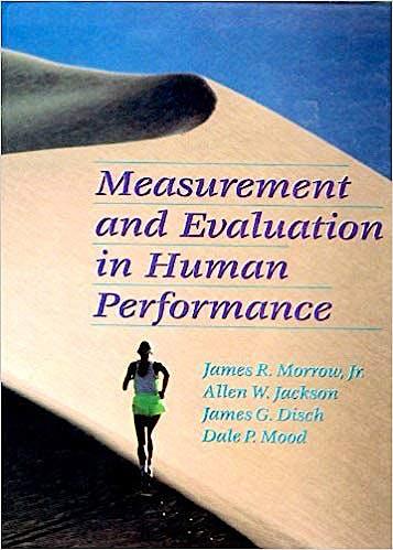Portada del libro 9780873227315 Measurement and Evaluation in Human Performance