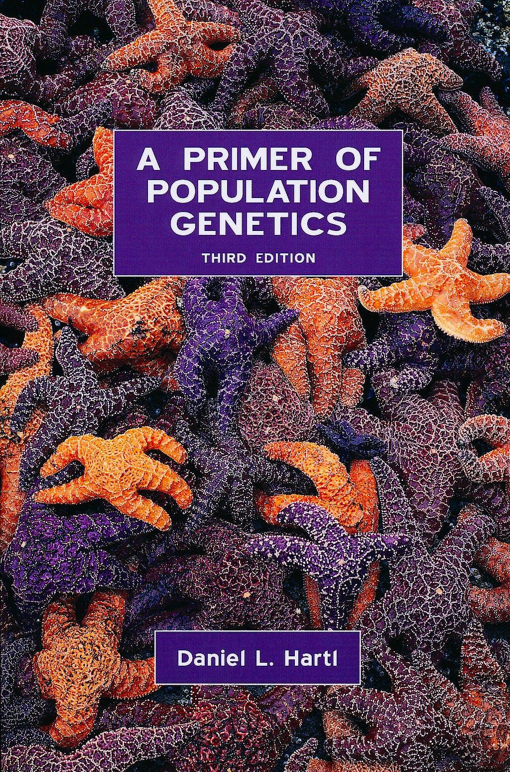 Portada del libro 9780878933044 A Primer of Population Genetics