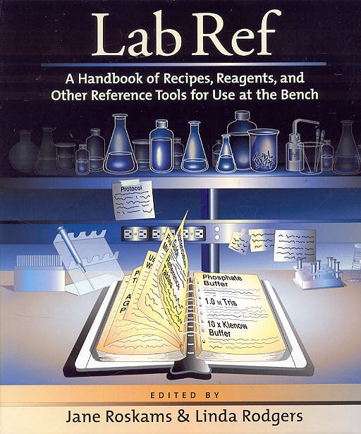 Portada del libro 9780879696306 Lab Ref. Handbook of Recipes Reagents and Other Reference Tools