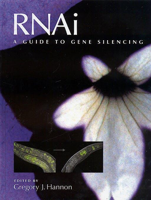 Portada del libro 9780879696412 Rnai a Guide to Gene Silencing