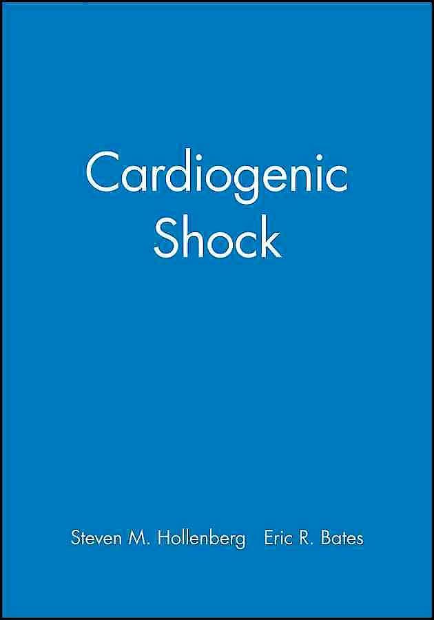 Portada del libro 9780879937027 Cardiogenic Shock