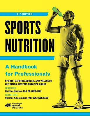 Portada del libro 9780880919753 Sports Nutrition. A Handbook for Professionals