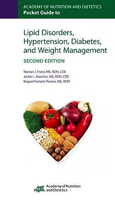 Portada del libro 9780880919852 Academy of Nutrition and Dietetics Pocket Guide to Lipid Disorders, Hypertension, Diabetes, and Weight Management