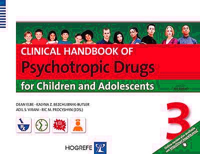 Portada del libro 9780889374560 Clinical Handbook of Psychotropic Drugs for Children and Adolescents