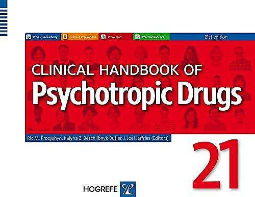 Portada del libro 9780889374744 Clinical Handbook of Psychotropic Drugs