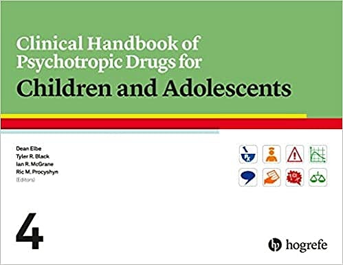 Portada del libro 9780889375505 Clinical Handbook of Psychotropic Drugs for Children and Adolescents