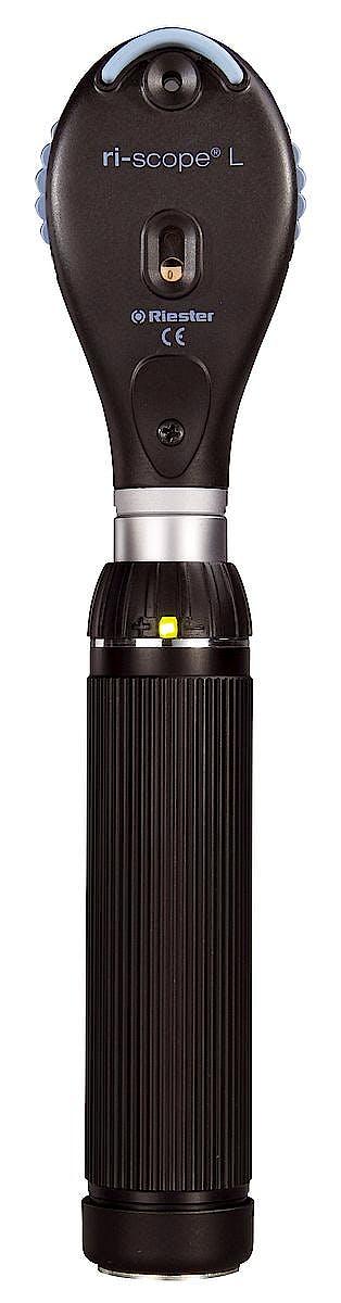 Oftalmoscopio Riester Ri-Scope L L1 HL 2,5 V., Mango C para 2 Baterias Alcalinas Tipo C o Ri-Accu