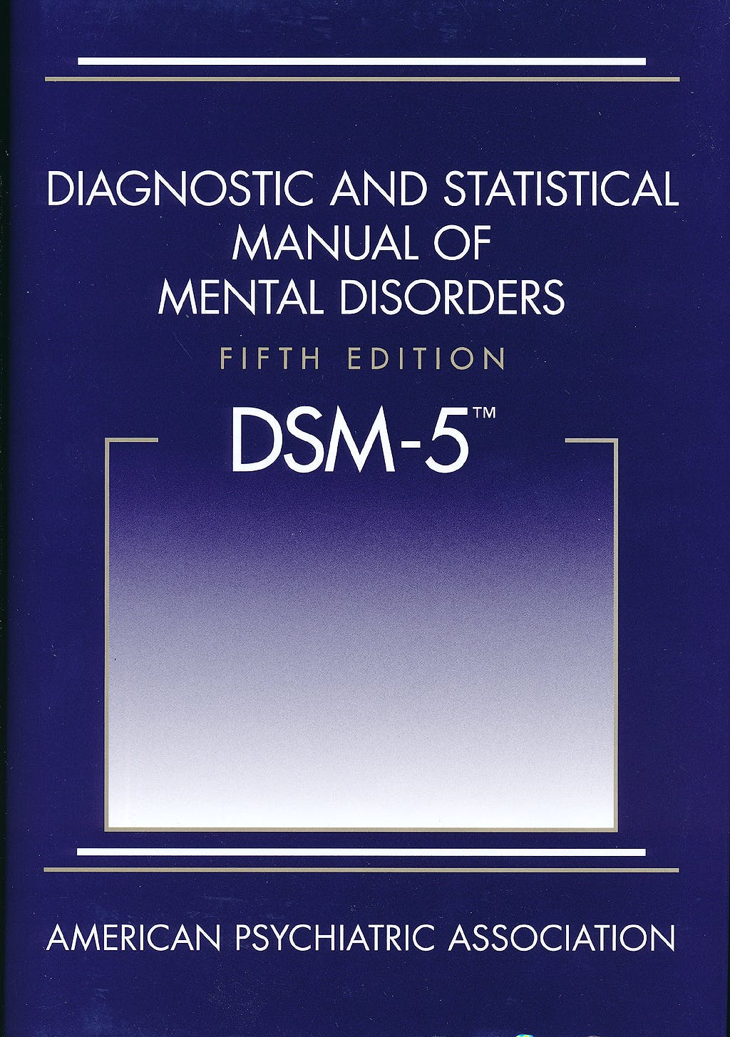 Portada del libro 9780890425541 DSM-5 Diagnostic and Statistical Manual of Mental Disorders (Hardcover)