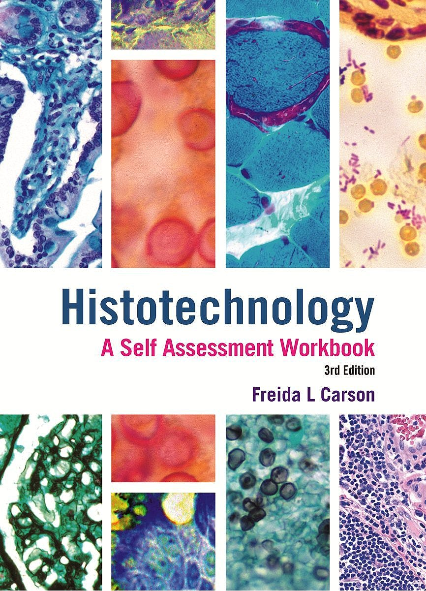 Portada del libro 9780891896401 Histotechnology: A Self-Assessment Workbook
