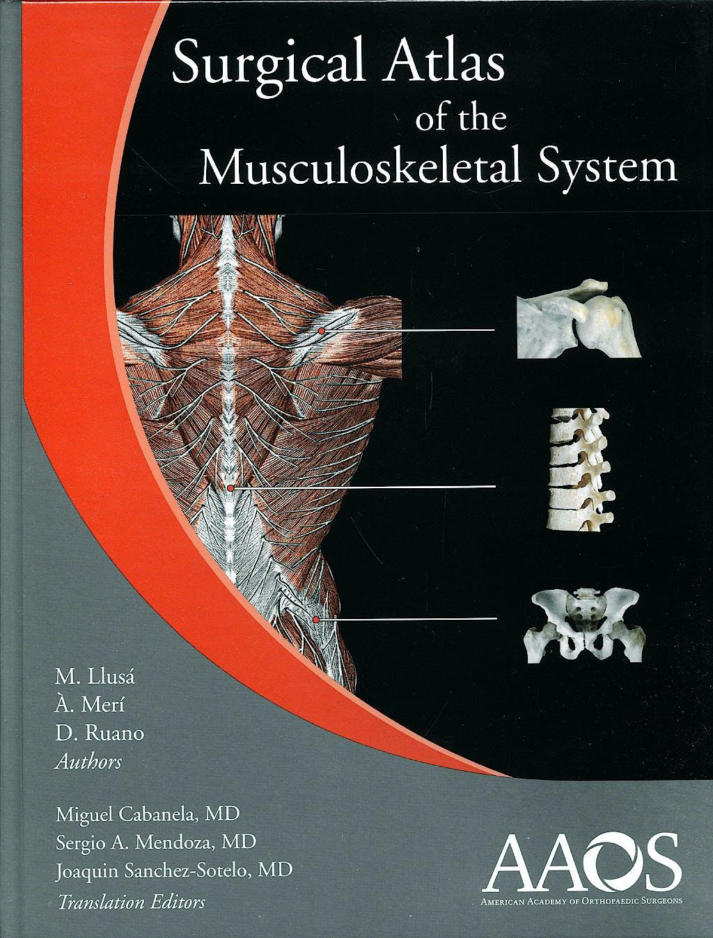 Portada del libro 9780892033942 Surgical Atlas of the Musculoskeletal System + DVD