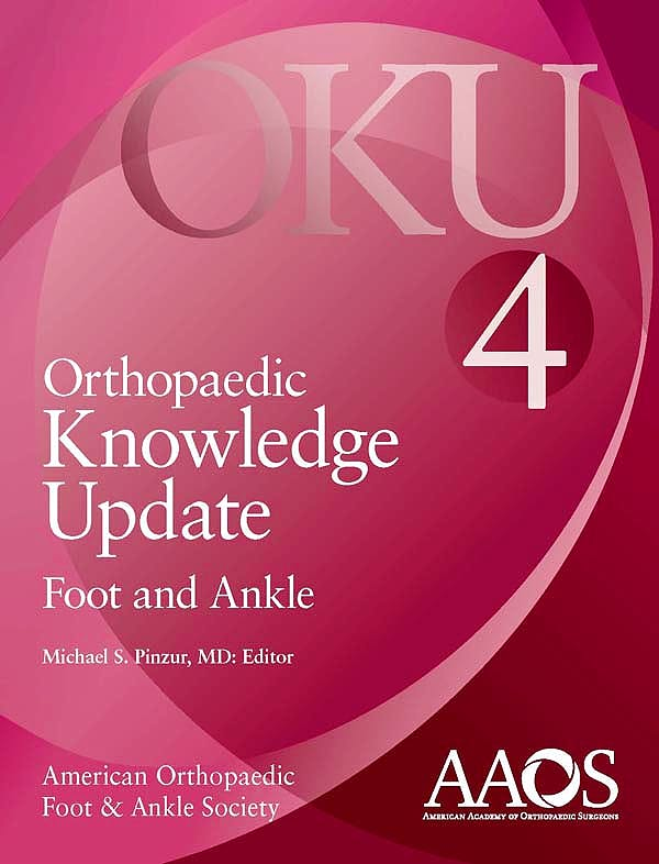 Portada del libro 9780892035748 Orthopaedic Knowledge Update (OKU). Foot and Ankle 4