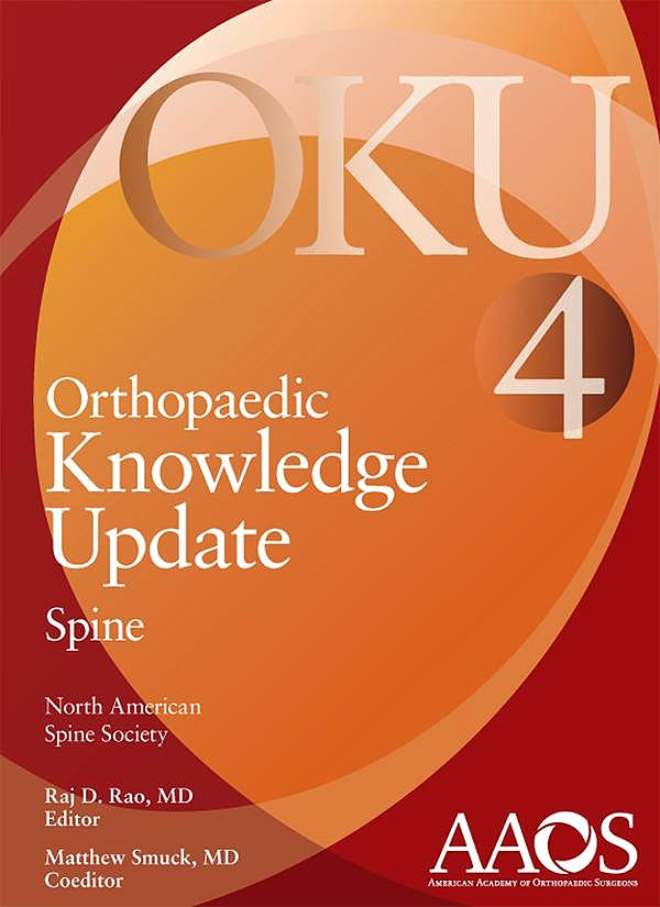 Portada del libro 9780892037377 Orthopaedic Knowledge Update (OKU). Spine 4