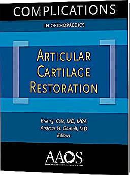 Portada del libro 9780892037438 Complications in Orthopaedics. Articular Cartilage Restoration