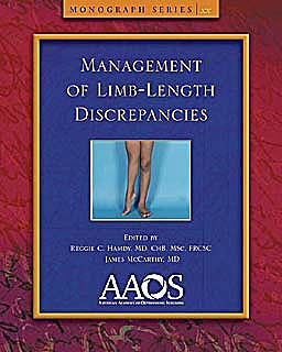 Portada del libro 9780892037469 Management of Limb Length Deficiencies