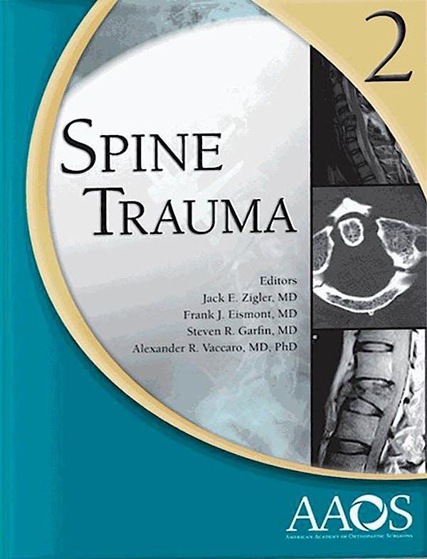 Portada del libro 9780892037537 Spine Trauma