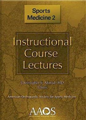 Portada del libro 9780892038411 Instructional Course Lectures. Sports Medicine 2