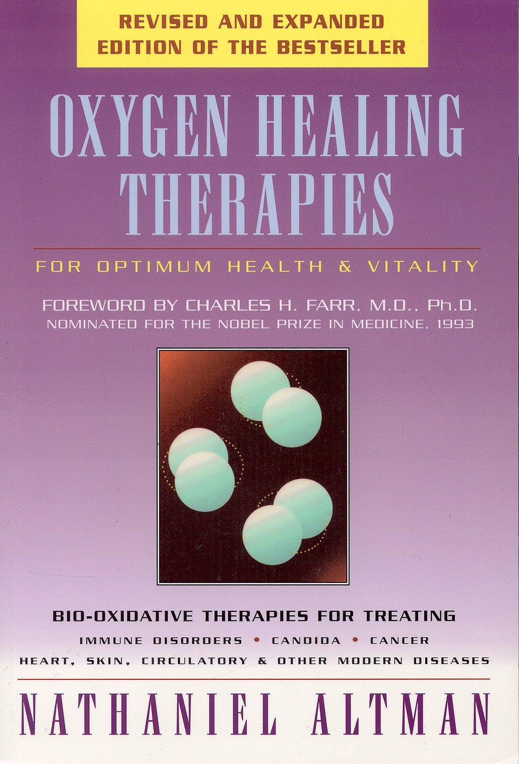 Portada del libro 9780892817931 Oxygen Healing Therapies: For Optimum Health and Vitality
