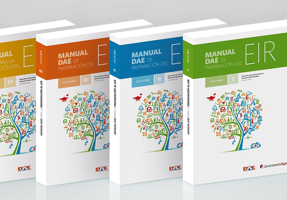 Portada del libro 9780893815387 Manuales Dae de Preparacion Eir, 4 Volumenes (No Se Venden por Separado)