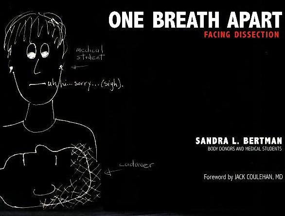 Portada del libro 9780895033963 One Breath Apart. Facing Dissection