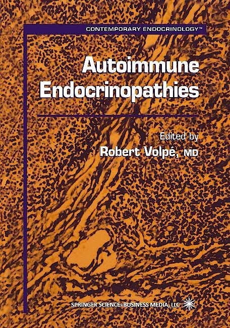 Portada del libro 9780896036802 Autoimmune Endocinopathies