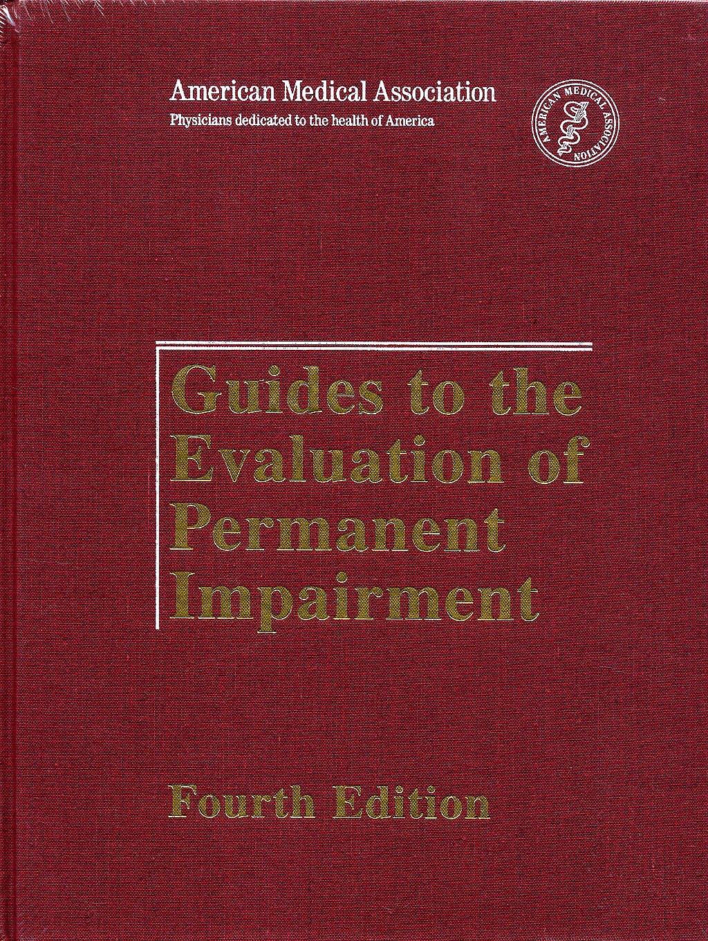 Portada del libro 9780899705538 Guides to the Evaluation of Permanent Impairment