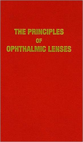Portada del libro 9780900099205 The Principles of Ophthalmic Lenses