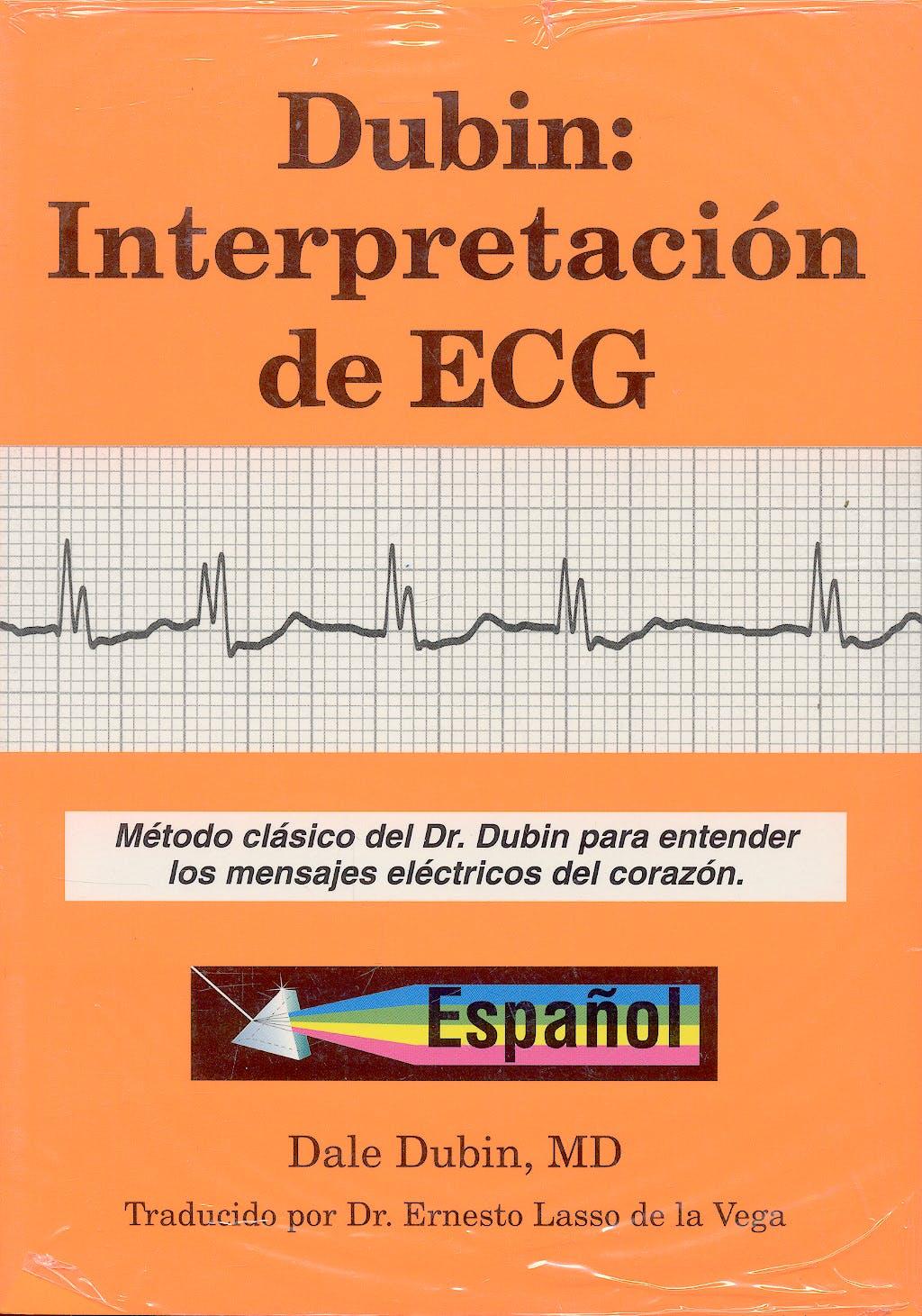 Portada del libro 9780912912257 Dubin: Interpretación de ECG