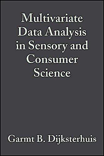 Portada del libro 9780917678417 Multivariate Data Analysis in Sensory and Consumer Science