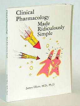 Portada del libro 9780940780170 Clinical Pharmacology: Made Ridiculously Simple