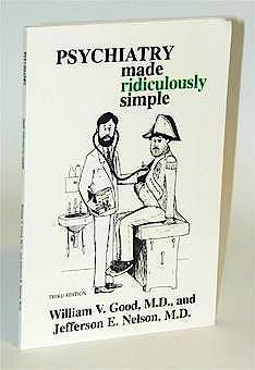 Portada del libro 9780940780224 Psychiatry Made Ridiculously Simple