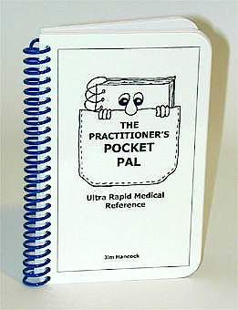 Portada del libro 9780940780439 The Practitioner's Pocket Pal: Ultr Rapid Medical Reference