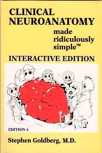 Portada del libro 9780940780927 Clinical Neuroanatomy Made Ridiculously Simple. Interactive Edition