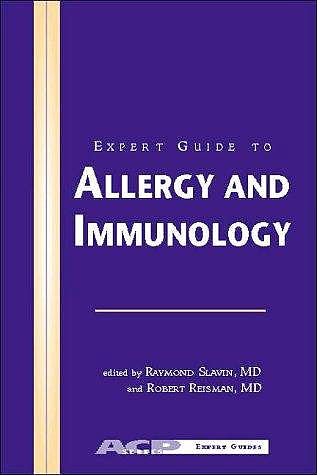 Portada del libro 9780943126739 Expert Guide to Allergy and Immunology