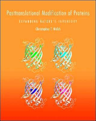 Portada del libro 9780974707730 Posttranslational Modification of Proteins