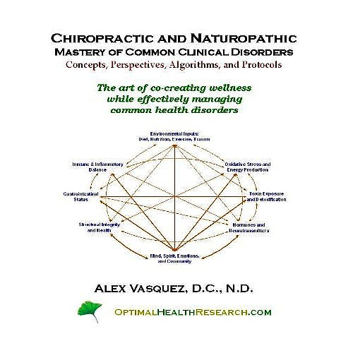 Portada del libro 9780975285893 Chiropractic and Naturopathic Mastery of Common Clinical Disorders: Concepts, Perspectives, Algorithms, and Protocols
