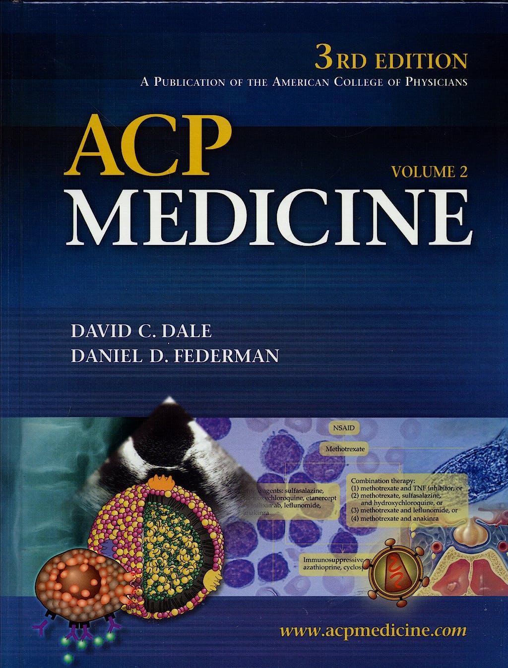 Portada del libro 9780977222612 Acp Medicine (2 Vols)