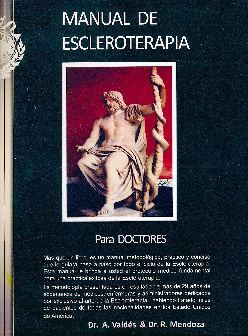 Portada del libro 9780982261149 Manual de Escleroterapia para Doctores