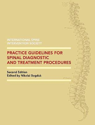 Portada del libro 9780988196216 Practice Guidelines for Spinal Diagnostic and Treatment Procedures