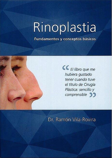 Portada del libro 9781084520196 Rinoplastia. Fundamentos y Conceptos Básicos
