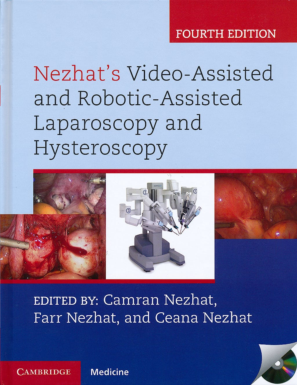 Portada del libro 9781107011601 Nezhat's Video-Assisted and Robotic-Assisted Laparoscopy and Hysteroscopy + Dvd
